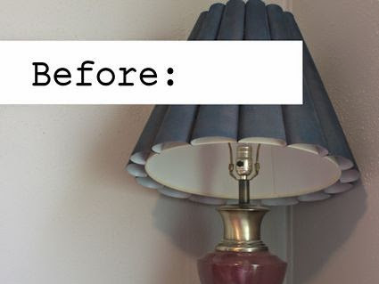 A lamp makeover