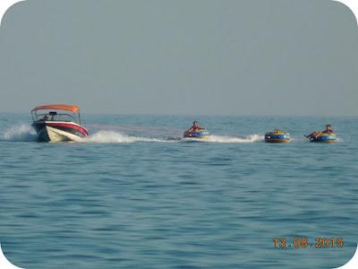 sporturi nautice la Pefkari