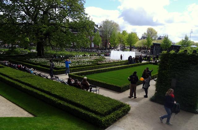 Garden Rijksmuseum