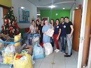 Visita e arrecadação de donativos para o Lar Amigos de Jesus
