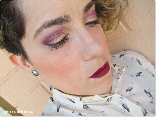 Maquillaje atardecer con Yes Love y NYX