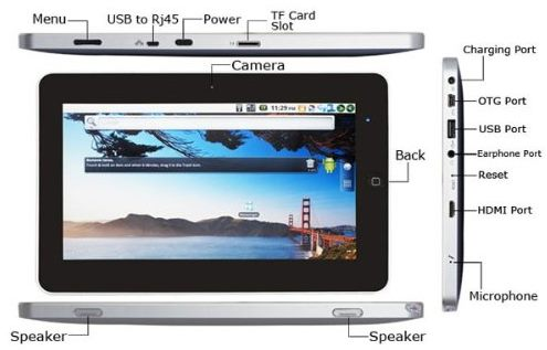 MaiPad ZT-180 Android Touch Apad Epad Tablet PC 10 inch | Tablets