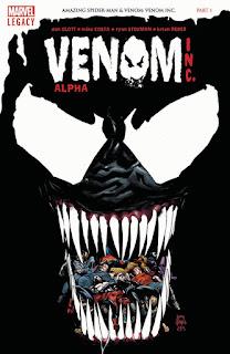 """""""Venom Inc."""" el próximo crossover de Marvel Cómics"""
