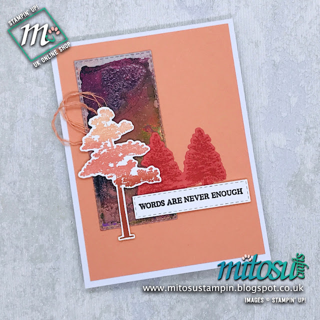 Stampin' Up! Rooted In Nature Card Idea. Order cardmaking supplies from Mitosu Crafts UK online shop 24/7