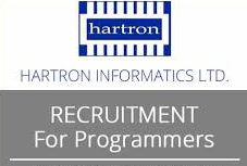 Hartron Informatics Limited Career 2018 Programmer Posts
