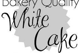 Bakery Quality White Cake with Buttercream Frosting #bakery #whitecake #cakes #buttercream #frosting #desserts