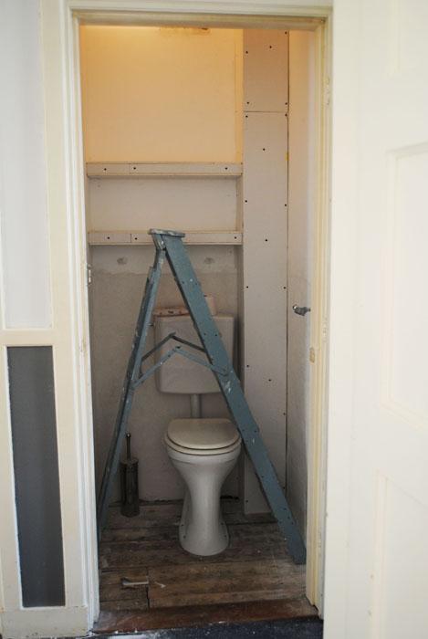 Uitzonderlijk Dutch Design on a Budget: Le Toilet; gipsen wand plaatsen MC47