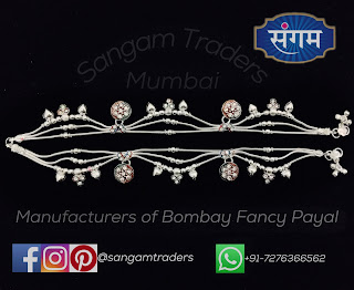 Latest Silver payal Design