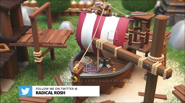 Barco Clash of Clans