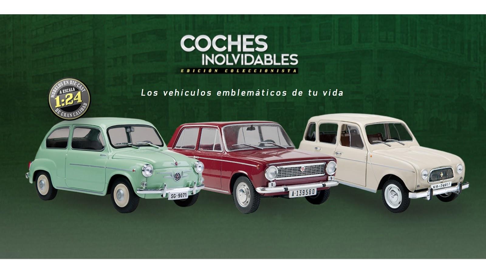 Coches inolvidables 1/24 (Salvat) en España | Colecciones chéveres