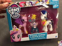 MLP Reboot Series Family Moments Princess Cadance Shining Armor Baby Flurry Heart