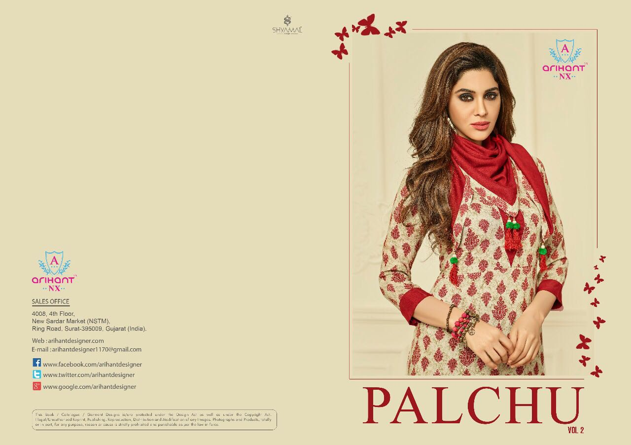 PALCHU Vol-2  By Arihant NX New Arrival Designer Heavy Rayon Print Kurtis