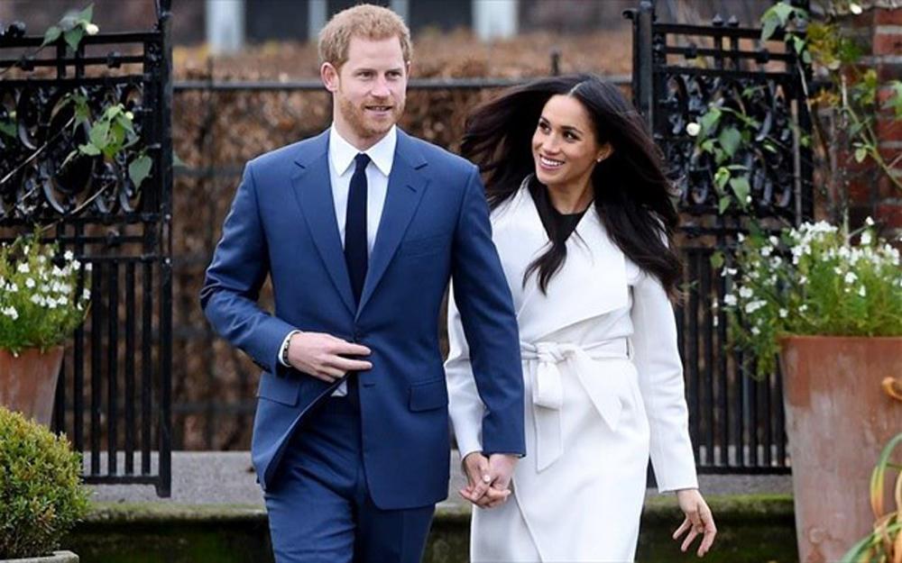 Ζωντανα LIVE ο γάμος του Πριγκιπα Χαρι και της Μεγκαν Μαρκλε