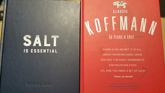 Book Review: Shaun Hill, Salt is Essential and Pierre Koffmann, Classic Koffmann