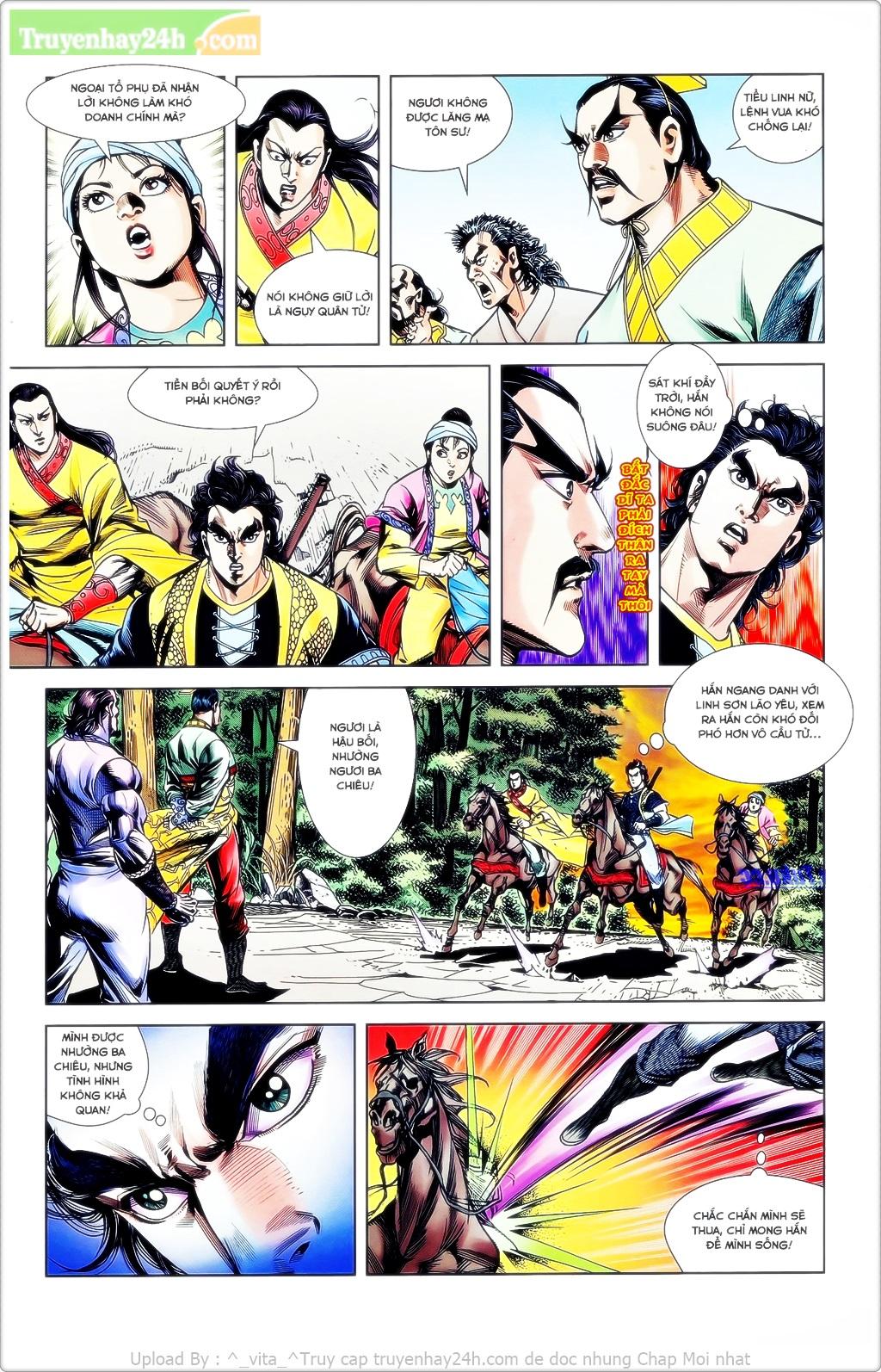 Tần Vương Doanh Chính chapter 23 trang 16