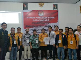 Hanura Targetkan menambah Kursi Di DPRD Kota Manado