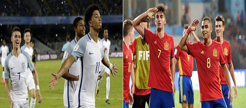 England vs Spain FIFA U-17 World Cup Finals