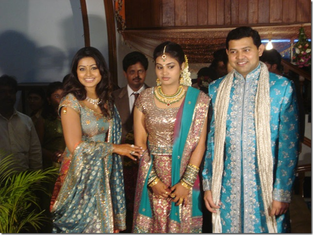 Wedding Of Tamil Actress Sneha