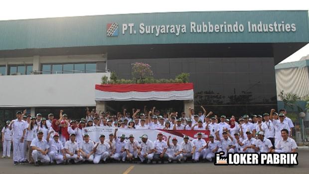 PT Suryaraya Rubberindo Industries Karyawan
