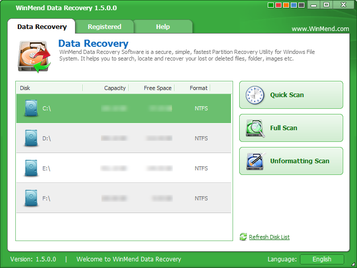 Get WinMend Data Recovery crack