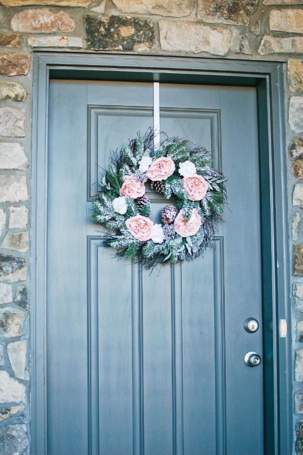 Glam Christmas wreath