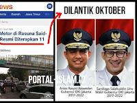 Larangan Motor di Rasuna Said-Sudirman Mulai 11 Oktober, Jebakan Betmen Buat Gubernur Baru