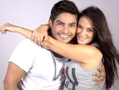 Foto de Erick Elera en su ex pareja