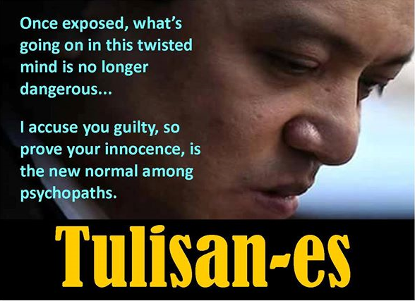 Did this public relations expert call Trillanes a psychopath?