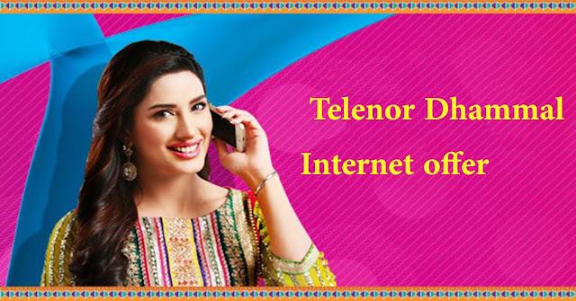 telenor internet package