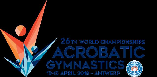 GIMNASIA ACROBÁTICA - Mundial 2018 (Amberes, Bélgica)