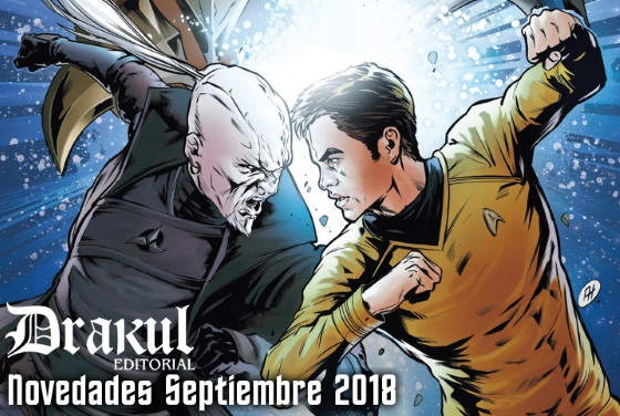 Editorial Drakul: Novedades Septiembre 2018