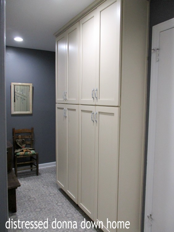 Distressed Donna Down Home Kitchen Pantry Before And After