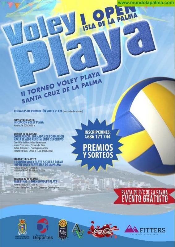 La playa de Santa Cruz de La Palma se convierte en el principal escenario deportivo del verano capitalino