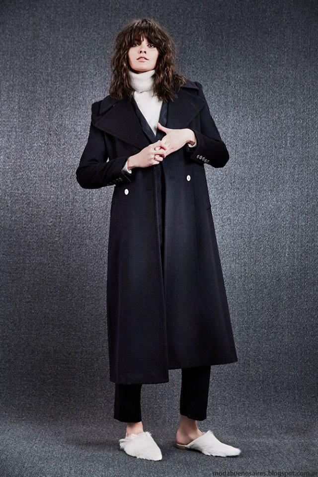 Tapados invierno 2016 ropa de mujer Paula Cahen D'Anvers. Moda 2016.