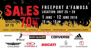 Freeport A'Famosa Outlet SALE