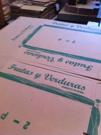 planchas de carton personalizadas