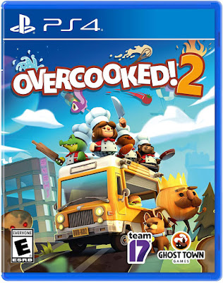 Overcooked 2 Game Cover Ps4