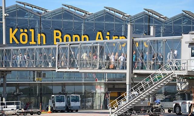 Mazedonischer Staatsbürger direkt vom Flughafen Köln-Bonn in Haft