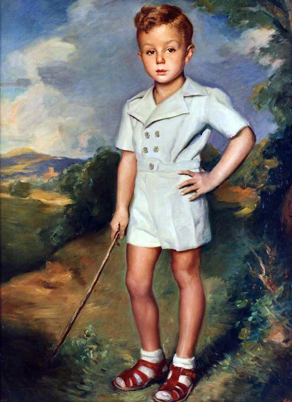 Príncipe de Liechtenstein, Victor Moya Calvo, Pintor español, Pintores Valencianos, Retratos de Victor Moya Calvo, Pintores españoles, Retrato del Príncipe de Liechtenstein