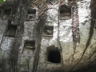 Old stone grave Toraja