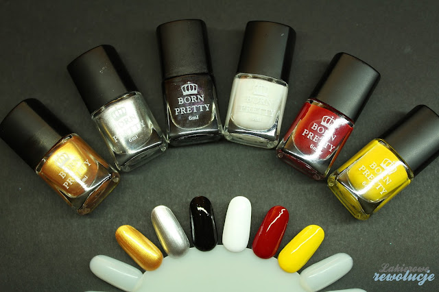 stamping polish set bps #1-6
