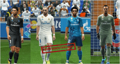 PES 2013 Real Madrid Full Kits GDB 2018