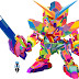 Gundam in WPAP by Rahman Kamal