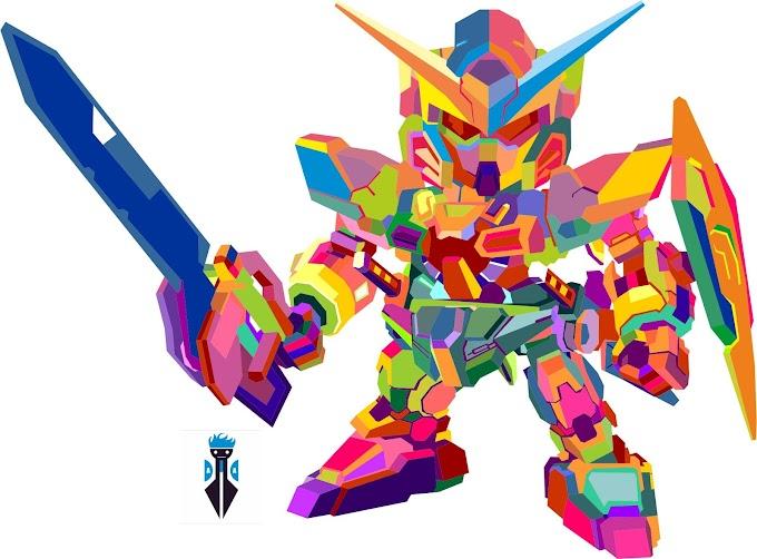 Gundam in WPAP by Rahman Kamal