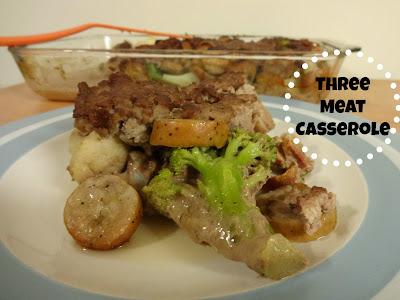 Recipe: 3 Meat Casserole