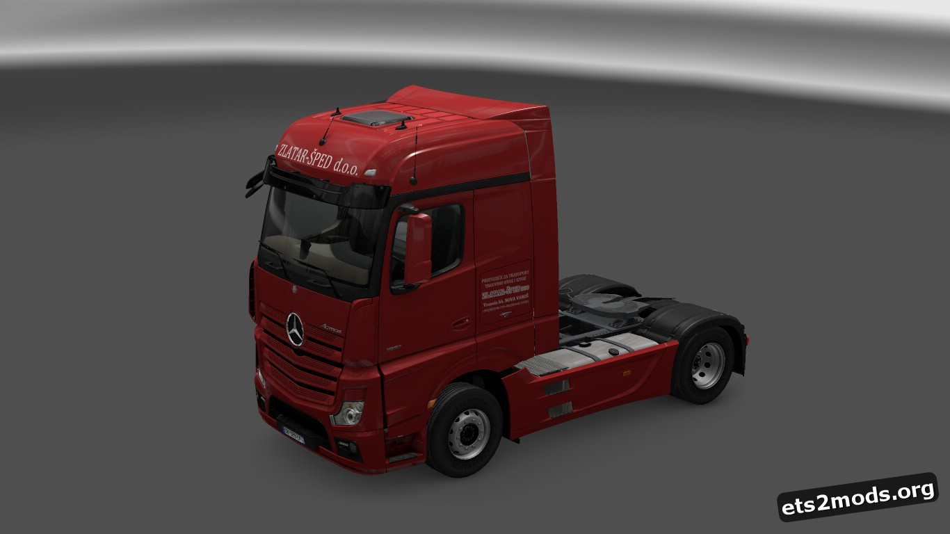 Zlatar-Šped Skin for Mercedes MP4