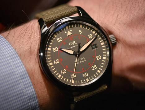IWC Pilot's Watch Mark XVIII Top Gun Miramar & Chronograph replica