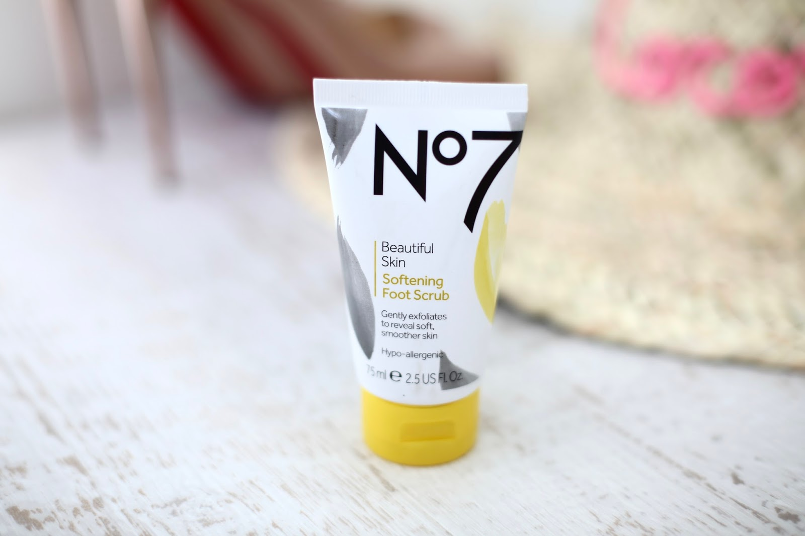 no7 softening foot scrub