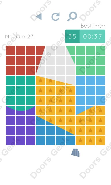 Cheats, Walkthrough for Blocks and Shapes Medium Level 23