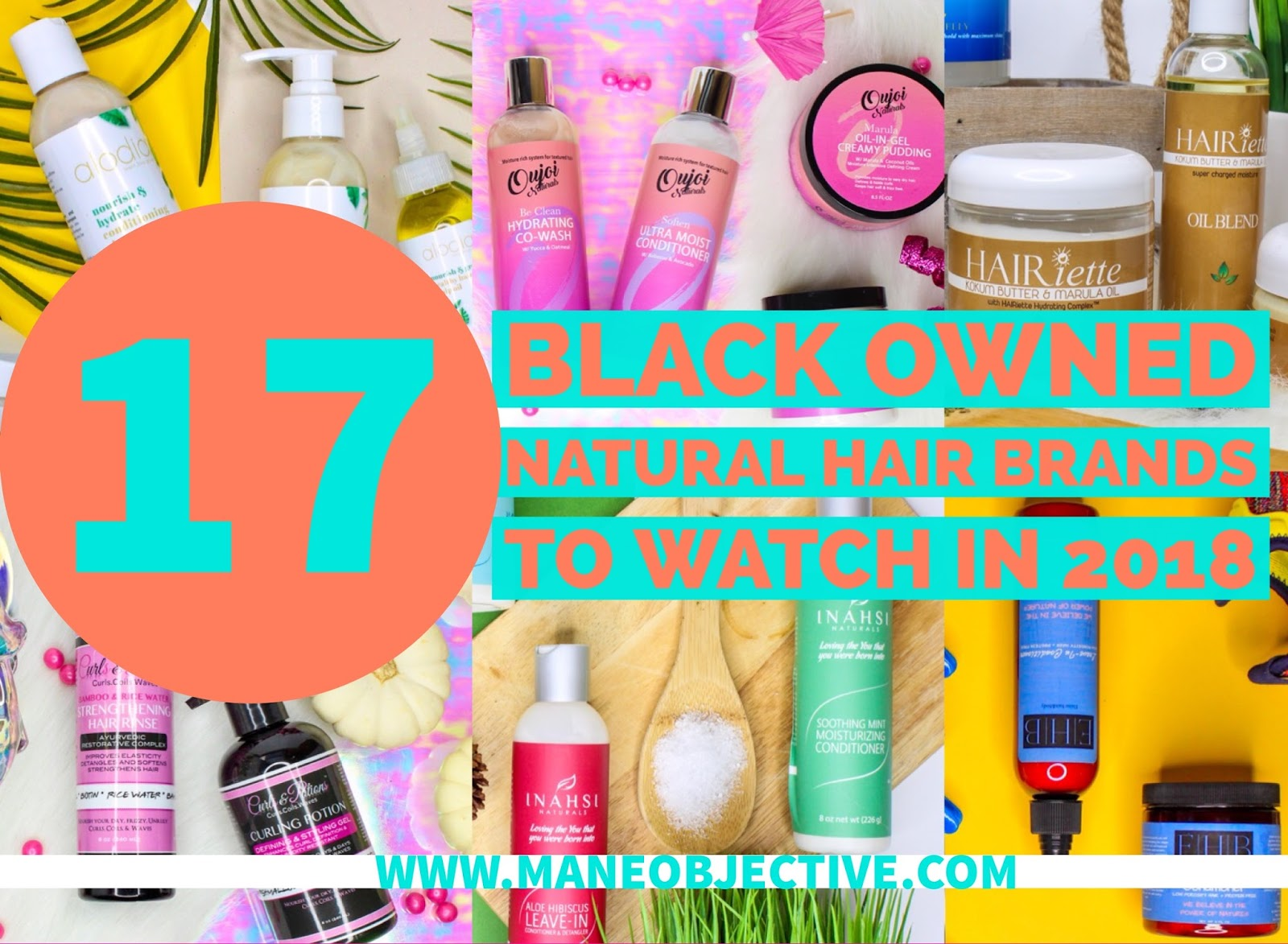 The Mane Objective 17 Black Owned Natural Hair Brands To Watch In 2018
